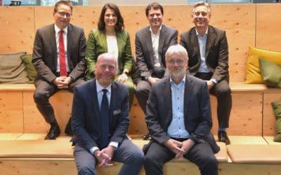 """Staatssekretär zu Gast in Harsewinkel: """"Die Zukunft der Digitalisierung entscheidet sich in den Betrieben"""""""