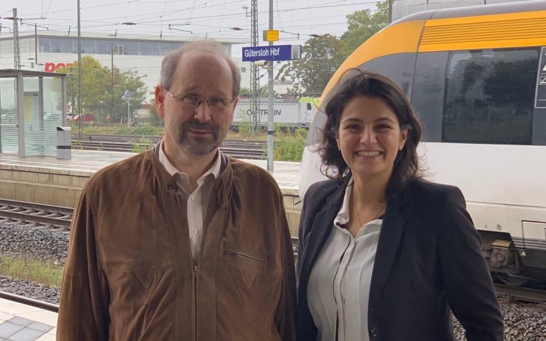 SPD-Bundestagsabgeordnete Korkmaz freut sich:  Brückenbauarbeiten der Deutschen Bahn enden planmäßig