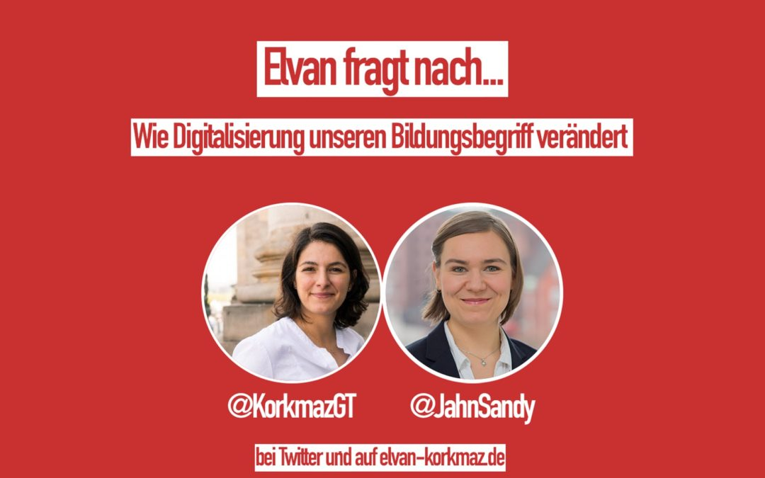 """""""Elvan fragt nach…"""" mit Sandy Jahn! (D21)"""