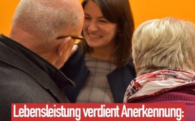 Grundrente vom Bundestag beschlossen! Endlich.