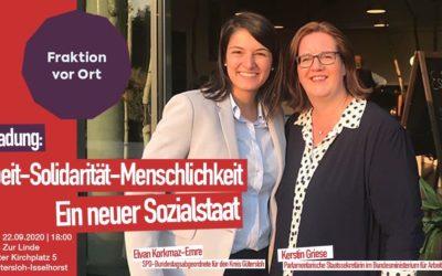 Arbeit – Solidarität – Menschlichkeit: Ein neuer Sozialstaat!