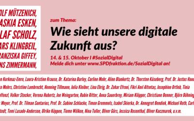 """""""Unsere digitale Zukunft"""" – Digitalkongress der SPD-Bundestagsfraktion"""
