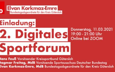 Perspektive für Sportler:innen? Elvan Korkmaz-Emre lädt zum 2. Digitalen Sportforum